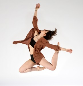 Image of an SJSU Dancer, School of Music & Dance